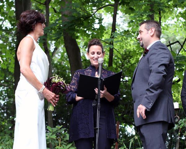 Wedding Officiant - Lisa Traina - alyssa & peter