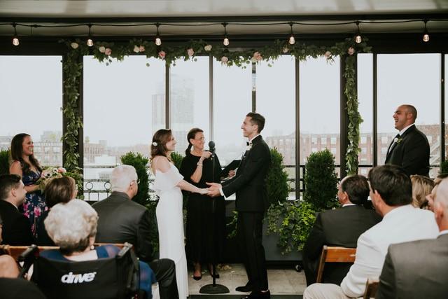 lisa traina - wedding officiant - april & nick