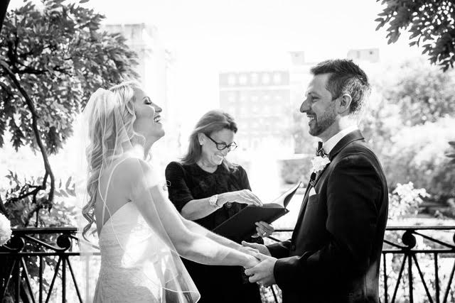 Wedding Officiant - Lisa Traina - brittney and ryan