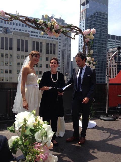 Wedding Officiant - Lisa Traina - eric & margot