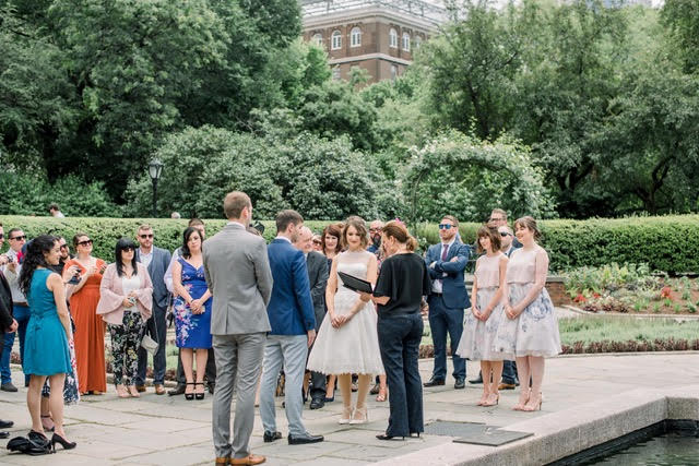 Wedding Officiant - Lisa Traina - jane and ben