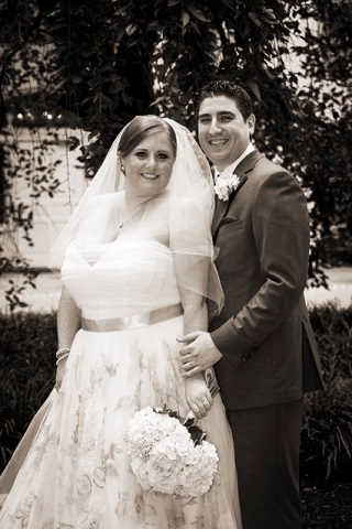 lisa traina - wedding officiant - mallory and stephen