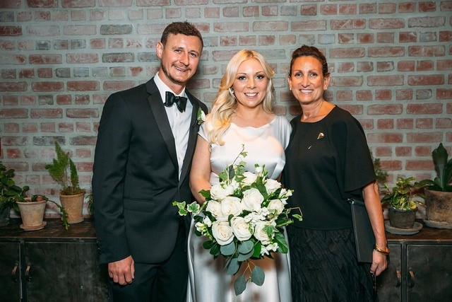 lisa traina - wedding officiant - sarah and lewis