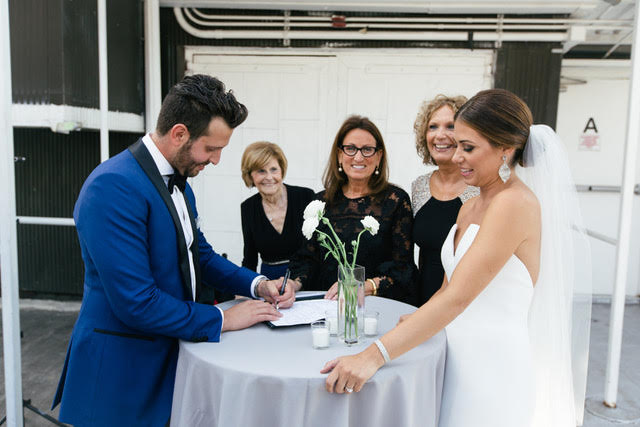 Wedding Officiant - Lisa Traina - stephanie & jordan
