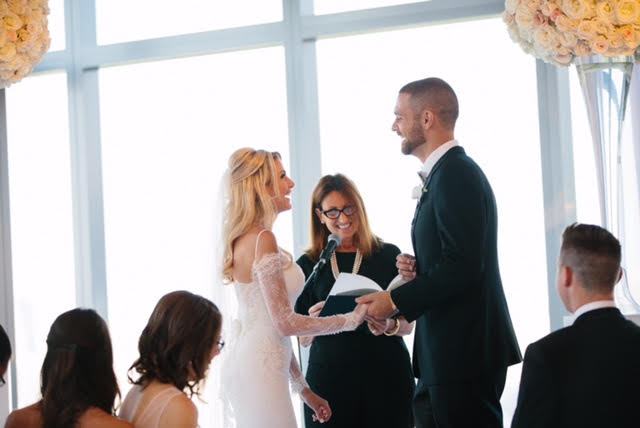 Wedding Officiant - Lisa Traina - jessica and nick