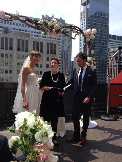 Wedding Officiant - Lisa Traina - eric & margot