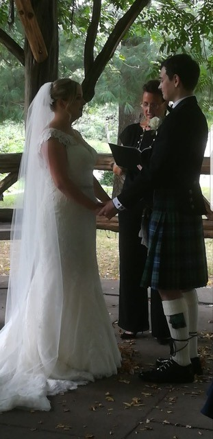 Lisa Traina - wedding Officiant - Laura-Mikey